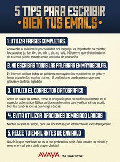 5 consejos para escribir bien tus emails