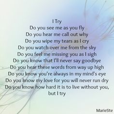 I miss you so much. I wish you were here for Christmas, it's our 6th one without you now. And I miss you so much mummy  can you see me????