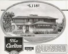 The Sears Homes Designed by a Prairie School Architect.