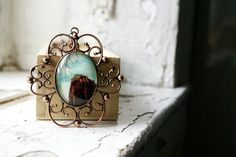 The Church NYC Photo Jewelry Necklace Copper Pendant New by thebqe, $30.00