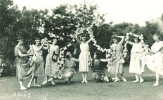 #UI #dancers, #1910s | Iowa City Town and Campus Scenes