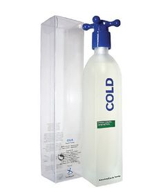 COLD by Benetton Eau De Toilette Spray 3.4 oz by Benetton. $7.99. 100% Authentic Brand Name Merchandise!. Eau De Toilette Spray 3.4 oz. Launched by the design house of Benetton in 1997 COLD is classified as a luxurious fruity fragrance. This unisex scent possesses a blend of lemon mandarin and geranium. It is recommended for romantic wear.. Save 79% Off!