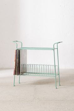 Shop Larisa Vinyl Storage at Urban Outfitters today. We carry all the latest styles, colours and brands for you to choose from right here. Furniture Deals, Cool Furniture, Furniture Design, Accent Furniture, Urban Outfitters, Table Storage, Storage Shelves, Storage Organization, Cheap Home Decor