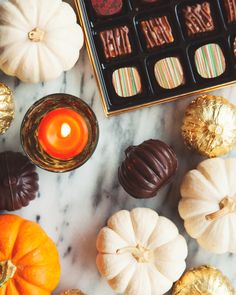 Curl up with a warm cup of tea and some of our favourite Purdys chocolates on a crisp fall night!