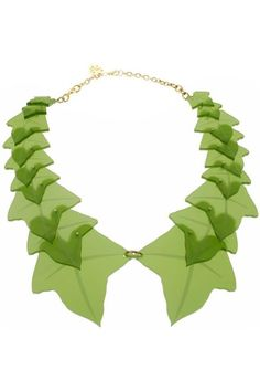 Ivy Wreath green Necklace