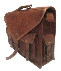 Product Specification Condition - Brand New Brand - Pera Size - X X Inches Leather - Goat Leather Manufacturing - Handmade Product Description This is a multi-function bag that has Vintage Type, Leather Bags Handmade, Laptop Case, Vintage Leather, Briefcase, My Bags, Macbook, Messenger Bag, Satchel