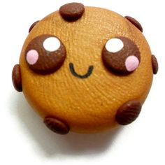 Polymer Clay Kawaii Magnet 1pc Cookie by KawaiiBits on Etsy