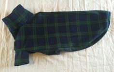 Blackwatch Tartan doggy pjs 😍 https://www.etsy.com/uk/listing/472574630/greyhound-pjs-blackwatch-tartan-fleece