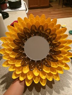 Sunflower Spoon Mirror