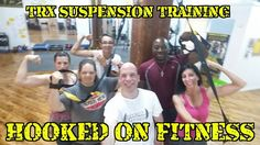 #TRX Suspension Training happens each and every Thursday night at 7pm at the #HookedOnFitness Studio. Come on up and see what the buzz is all about and how the #BestInPhillyJustGotBetter! Another shot from #HookedOnFitness