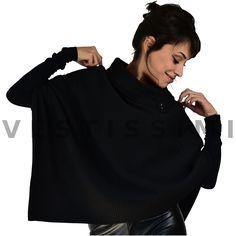 Poncho e giacca di pelle