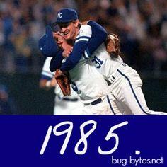 1985 World Series Champs - Kansas City Royals.