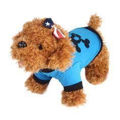 Hotselling Fashion Summer Cute Dog Pet Vest Puppy Printed Cotton T Shirt 425