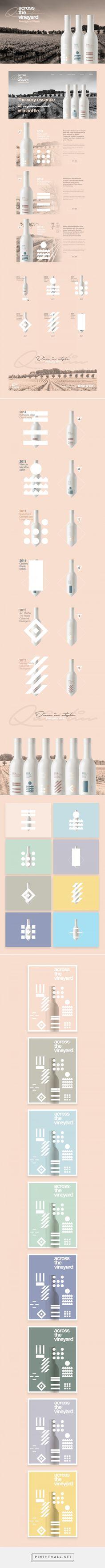 Across the Vineyard Wine Branding and Packaging by Studio-JQ | Fivestar Branding – Design and Branding Agency & Inspiration Gallery