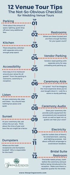 So you're touring wedding venues?  These tips are super important to help you get the perfect wedding venue for your dream wedding day!  Make sure to take this wedding advice to heart. Wedding venue tour, wedding venue, wedding venue tips, wedding venue ideas, texas wedding venues, oklahoma wedding venues, wedding venues.