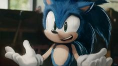 Another attempt at a good-looking live-action Sonic. Sonic The Hedgehog, Hedgehog Movie, Hedgehog Art, Game Sonic, Sonic 3, Sonic Fan Art, Sonic The Movie, Sonic Underground, Super Mario Art