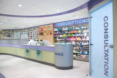 pharmacy design ideas - بحث Google‏
