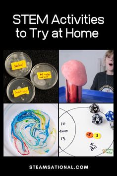 These STEM activities are the perfect STEM enrichment activities for kids and include hundreds of STEM activities for kids! Preschool Science Activities, Enrichment Activities, Science Experiments Kids, Science For Kids, Activities For Kids, Stem Science, Kids Educational Crafts, Kindergarten Stem, Stem Projects