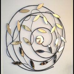 Metal Wall Art Mirror at Divine Interiors and Gifts