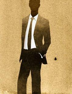 fashion illustration #men by Kareem Iliya