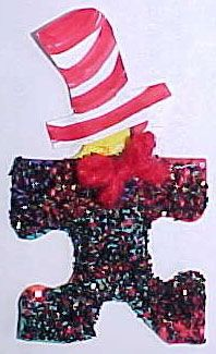 A Dr. Seuss pin for Read Across America Day, Graham Cracker Flag Snack, Pretzel Snow People, MORE!