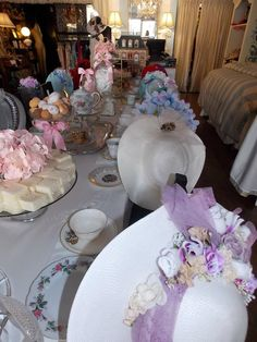 Table set for tea