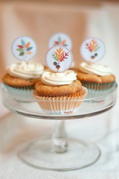Carrot Cake Cupcakes from @Lana Stuart | Never Enough Thyme http://www.lanascooking.com/2013/09/13/carrot-cake-cupcakes/