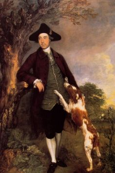 Freiherr George Vernon | Thomas Gainsborough