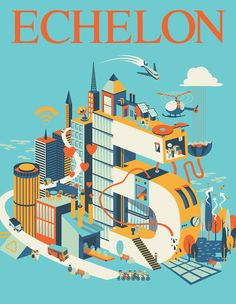 Echelon Magazine | Cover Illustrations 2015 on Behance