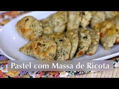 Receita de Pastel com Massa de Ricota (Vegetariana)