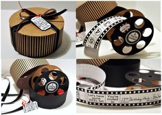 Movie Reel Party Invitation Idea