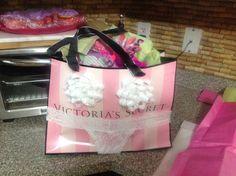Sarah's bachelorette gift bag