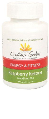 Creation's Garden Raspberry Ketone Metablend 300 Energy and Fitness *** Don't get left behind, see this great  product : Weight loss Supplements