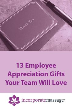 Whether it's Employee Appreciation Day or you just want to give an Employee Thank You Gift, we've curated a list of 13 ideas. Employee Day, Employee Thank You, Employee Morale, Employee Appreciation Gifts, Thank You Gifts, Marketing, Love, Ideas, Thank You Presents