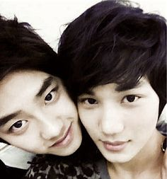 Image uploaded by Forever*EXO-L. Find images and videos about kpop, exo and kai on We Heart It - the app to get lost in what you love. Kaisoo, Suho Exo, Exo Ot12, Chanbaek, Exo Facts, Exo Couple, Kpop Couples, Xiuchen, Exo Korean