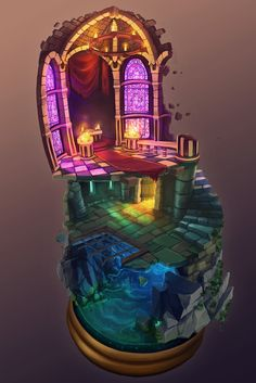 3D Diorama - Dungeon Environment - Page 3 - Polycount Forum