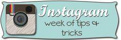 Instragram Hints and Tips via Help Me Ronda.....  series of tutorials