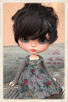 ALLiE Ooak Custom Blythe Doll