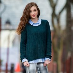 Hawkes Pullover - great color and very preppy