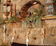 How To Make A Rusty Spring Christmas Garland
