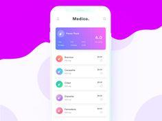 Medicine Order iOS app
