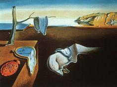 La persistencia de la memoria, Dalí. 1931. S. XX, Surrealismo  No cabe duda que el AMOR derrite los tiempos