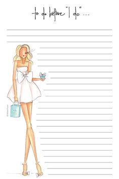 Brittany Fuson Paper  | Something Blue