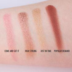 ColourPop Pressed Powder Eyeshadow Swatches