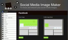 Aplicativo web ajuda a criar imagens de redes sociais