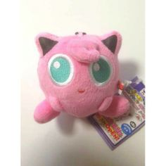 Pokemon 2014 Banpresto UFO Game Catcher Prize My Pokemon Collection Series Jigglypuff Plush Keychain