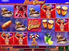 Играть в автомат Fiesta Cubana на деньги с выводом - Выводите деньги под ритмичную кубинскую музыку из игрового аппарата Fiesta Cubana. Начав играть в этот автомат, вы сможете насладиться его невероятно качественным оформлением и отличными выплатами.   Зажигательные дене