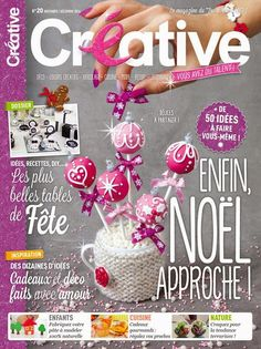 8 page Editorial for No.20 edition of Créative Magazine France