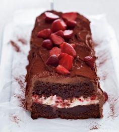 Das Rezept für Schoko-Erdbeer-Kasten und weitere kostenlose Rezepte auf LECKER.de