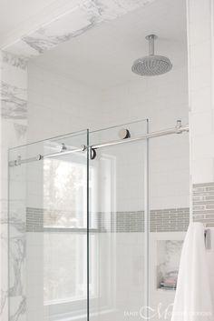 Creative Tonic loves sliding glass shower door hardware by Janie Molster Designs